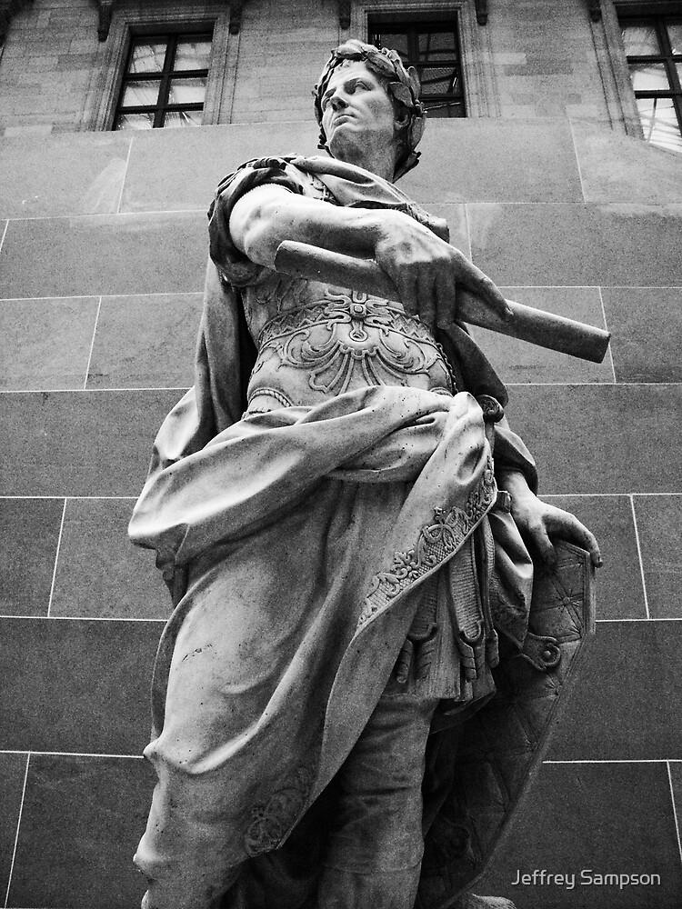 British museum statue by Jeffrey Sampson