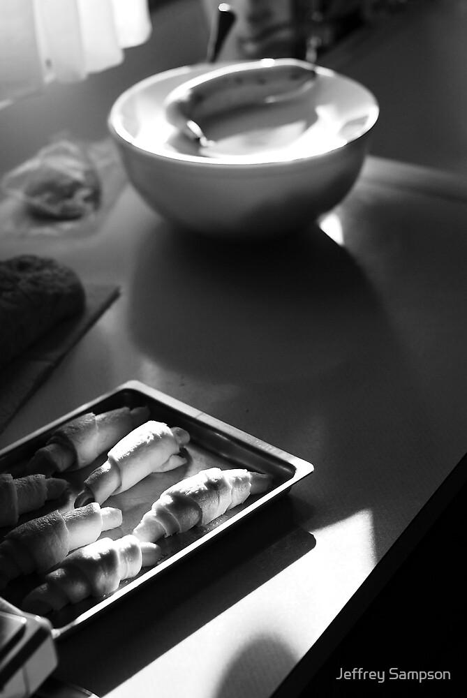 Croissant by Jeffrey Sampson