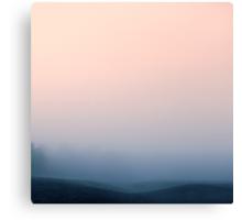 Hidden in the Mist Canvas Print