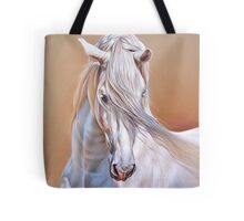 """Andalusian stallion"" - close-up Tote Bag"