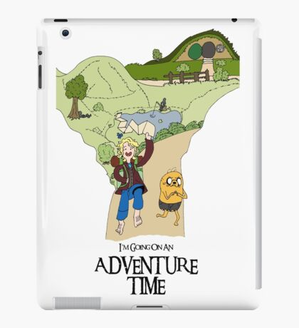 I'm Going On An Adventure Time iPad Case/Skin