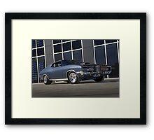 Gunmetal Grey Ford Landau Framed Print