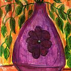 Plant In Purple Vase by RobynLee