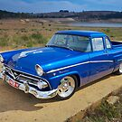 Blue Ford Mainline by John Jovic