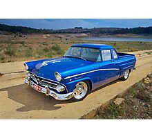 Blue Ford Mainline Photographic Print