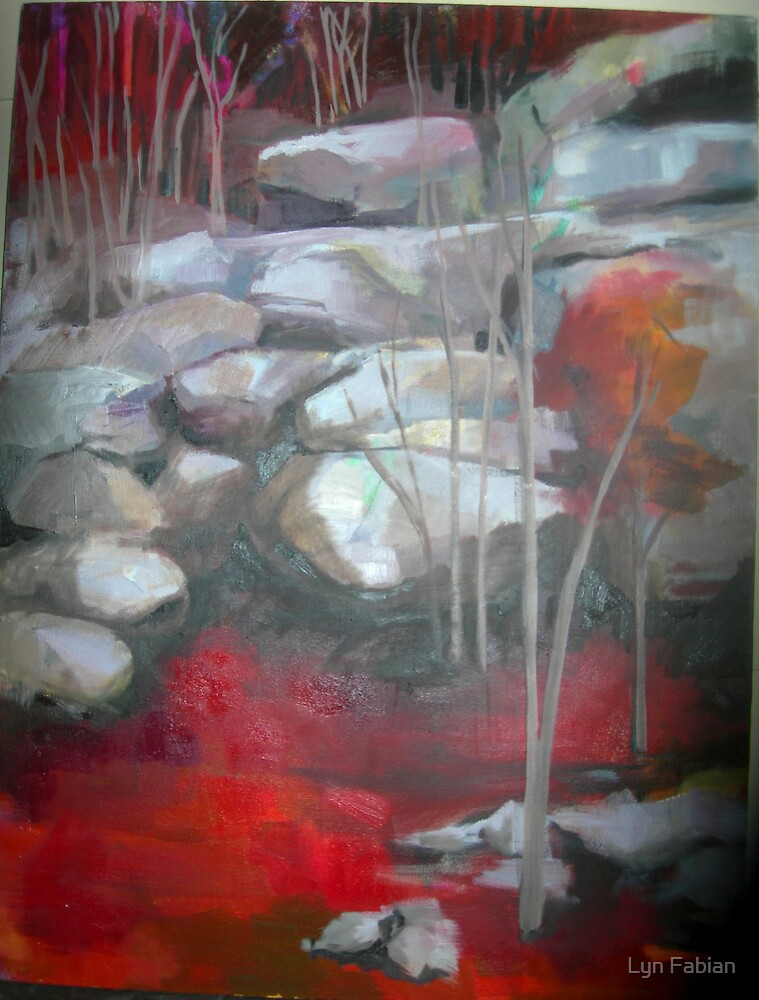 Rocky Landscape by Lyn Fabian
