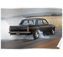 Black EH Holden Poster
