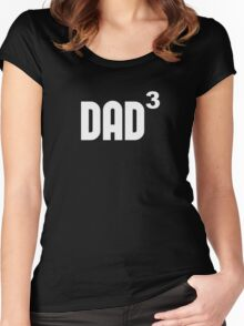 Dad3 Dad Cubed Exponentially Women's Fitted Scoop T-Shirt