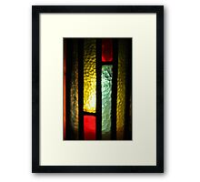Lux Beata (vertical) Framed Print