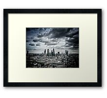 Highrise London Framed Print