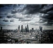 Highrise London Photographic Print