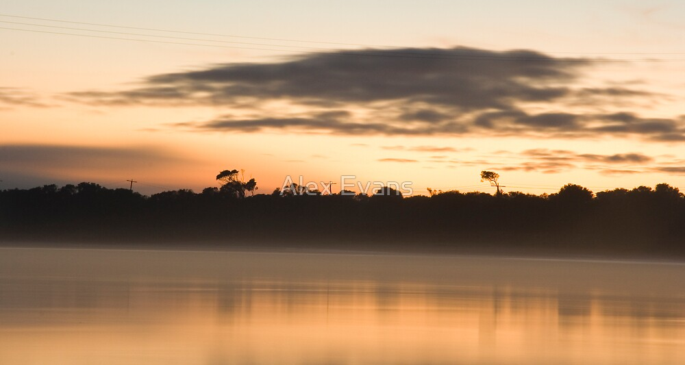 Barwon River Sunrise by Alex Evans