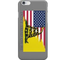 American Gadsden  iPhone Case/Skin