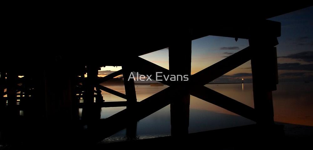 Barwon River Bridge by Alex Evans