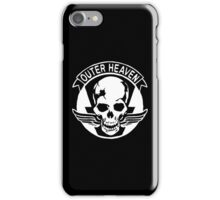 Outer Haven Logo White iPhone Case/Skin