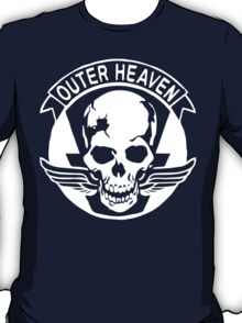 Outer Haven Logo White T-Shirt