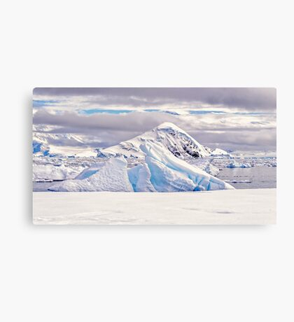 White Land Canvas Print