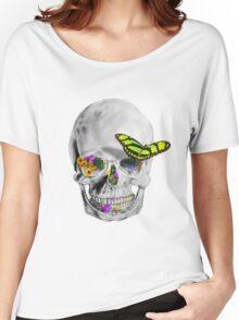 [ S K U L L E R F L Y ] Women's Relaxed Fit T-Shirt