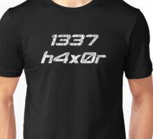 Leet Haxor 1337 Computer Hacker Unisex T-Shirt