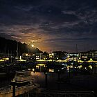 Moon Rise Over Nelly Bay - Magnetic Island by Paul Gilbert