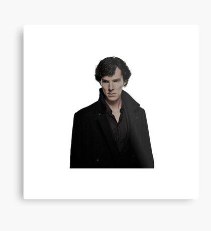 Sherlock Holmes/Benedict Cumberbatch Metal Print