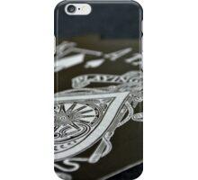 Royal Flush in Silver iPhone Case/Skin