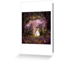 Alice at the Gate Greeting Card