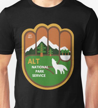 Alt National Park Service Sticker shirt hoodie sweater Unisex T-Shirt