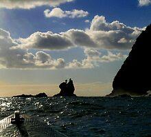 A Boat At Sea by April King