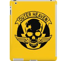Outer Haven Logo Black iPad Case/Skin