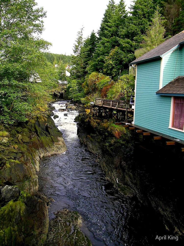 Creek Street Alaska by April King