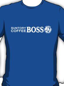 Suntory Boss Coffee Horizontal T-Shirt