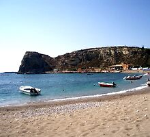 Greek Beaches, island of Rodos by Billy Andonaras