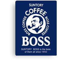 Suntory Boss Coffee Canvas Print