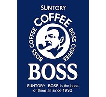 Suntory Boss Coffee Photographic Print