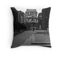 St. Pauls Cathedral Throw Pillow