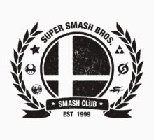 Smash Club (Black) by Bryant Almonte Designs