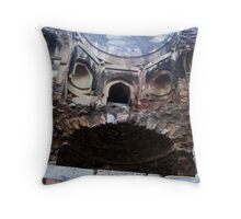 Pychedelic Ruins Throw Pillow