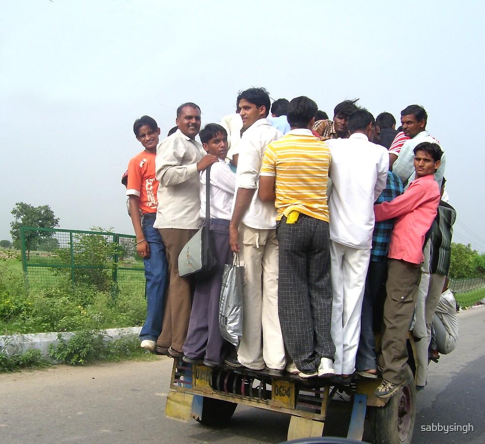Struggle for travel by sabbysingh