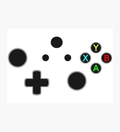 X Box Controller Photographic Print