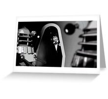 The Power of the Daleks Greeting Card