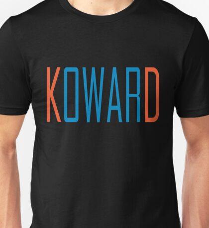 Oklahoma City KOWARD KD Diss GameDay Black T-Shirt Unisex T-Shirt