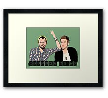 HD Duo Framed Print