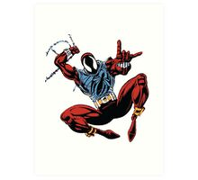 Spider-Man Unlimited - Ben Reilly the Scarlet Spider Art Print