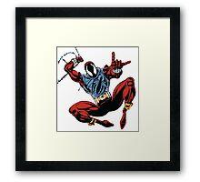 Spider-Man Unlimited - Ben Reilly the Scarlet Spider Framed Print