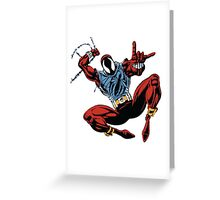 Spider-Man Unlimited - Ben Reilly the Scarlet Spider Greeting Card