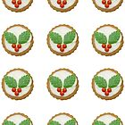 Sweet Christmas envelope seals by Sally Kate Yeoman