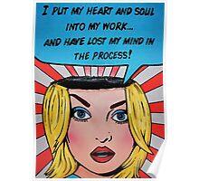 Van Goes My Mind Poster