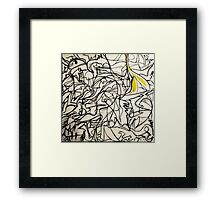 Chaotic Simplicity Framed Print