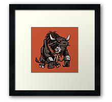 Minotaur Framed Print